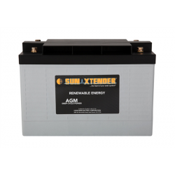 Concorde, SunXtender Sealed AGM Battery, 12V,  34Ah