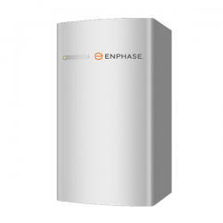 Enphase, Encharge 3.36kWh LFP Battery, with 4 integrated IQ8X-BATT inverters, NEMA 3R