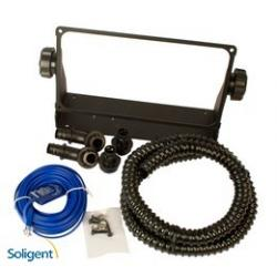 Midnite Solar, The KID accessory kit, 4ft flex conduit, BTS, Black, MNKID-ASSY-KIT-B